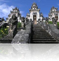 Svatba na Bali, Indonésie